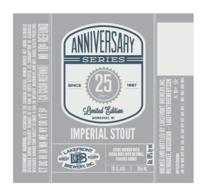 Lakefront 25th Anniversary Imperial Stout