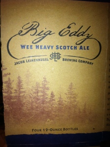 Big Eddy Wee Heavy Scotch Ale