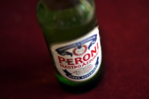 Picture of a bottle of Peroni beer