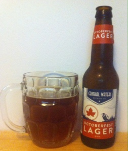 Central Waters Octoberfest Lager