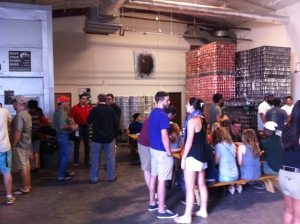 Buffalo Bayou Brewing Inside