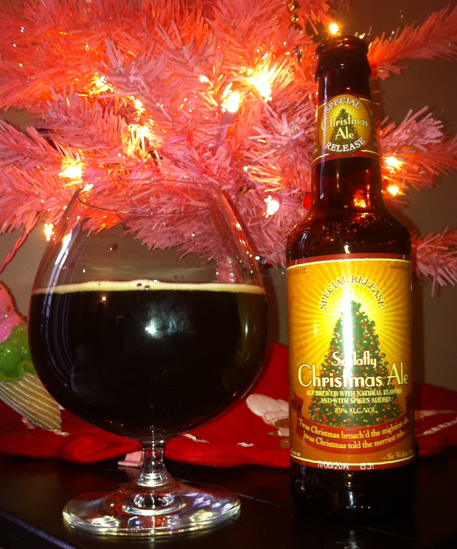 Schlafly Christmas Ale – 365 Brew