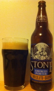 Stone Smoked Porter with Chocolate & Orange Peel