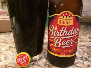 Shiner 106 Birthday Beer