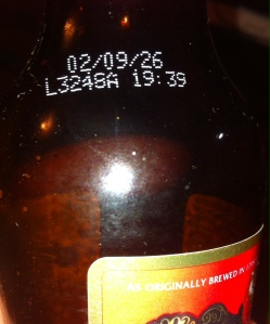 Courage Imperial Russian Stout best by date
