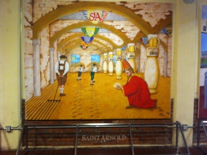 Saint Arnold Mural 2
