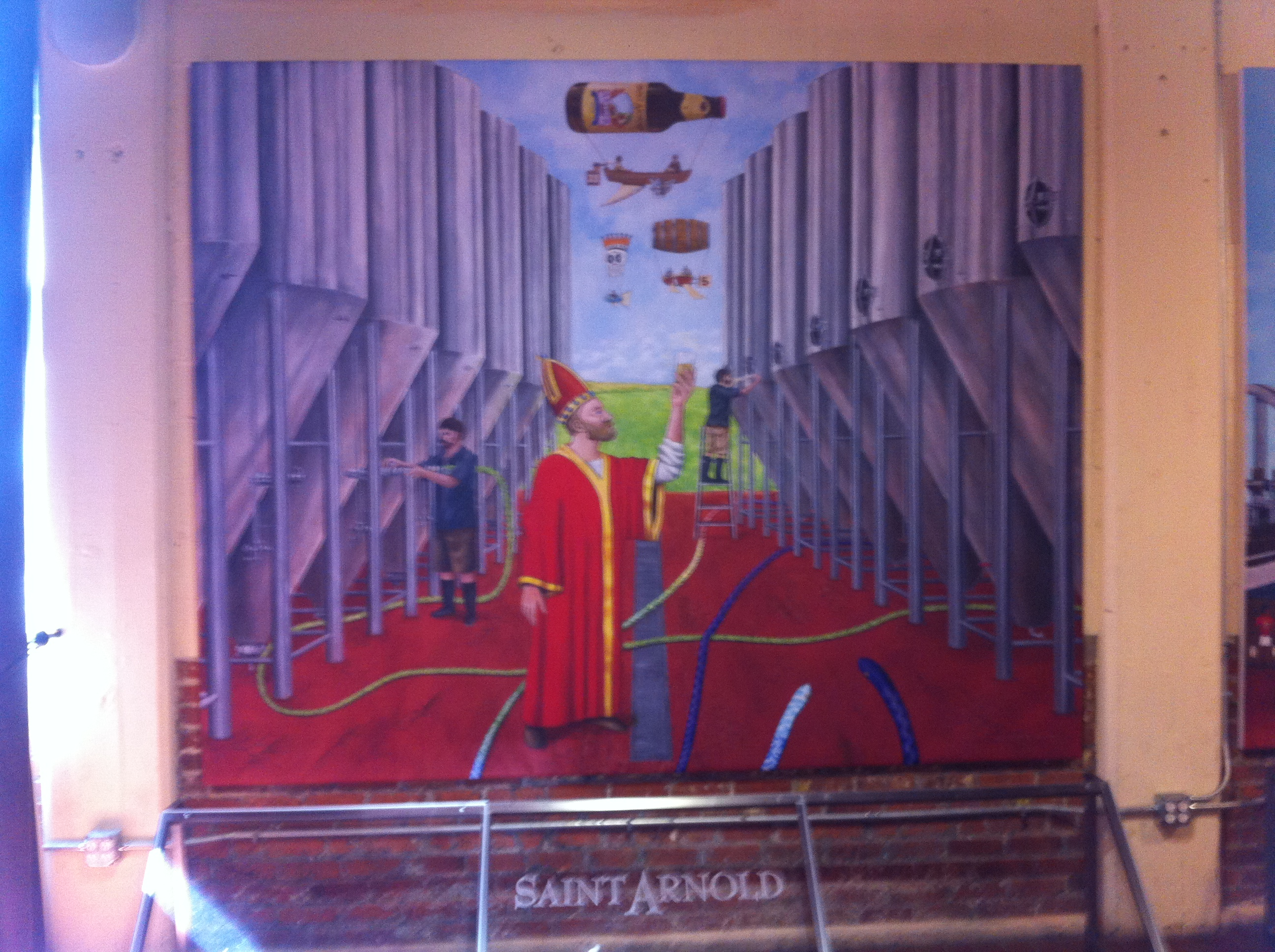 Saint Arnold Brewery Tour And Tasting