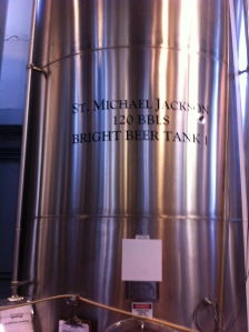 Michael Jackson Fermenter at Saint Arnold