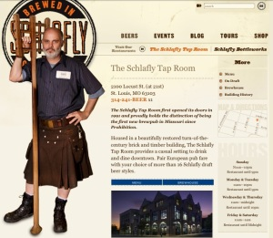 Schlafly Tap Room Homepage