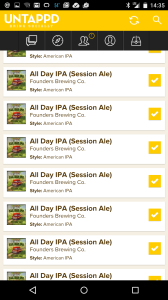 Untappd doesn't expect someone to drink one beer over and over...