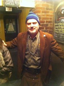 Steven at Schlafly Tap Takeover of Craft Beer Bar