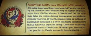Dogfish Head American Beauty Side of Label
