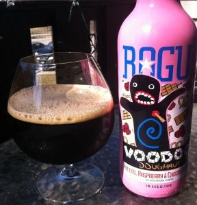 Rogue Voodoo Doughnut Pretzel, Raspberry & Chocolate Ale