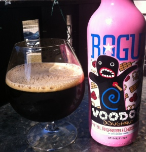 Rogue Voodoo Doughnut Pretzel, Raspberry & Chocolate Ale