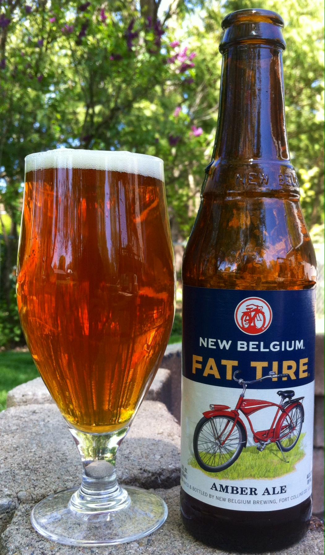 New Belgium Fat Tire 365 Brew