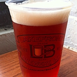 Lakefront Cherry Lager