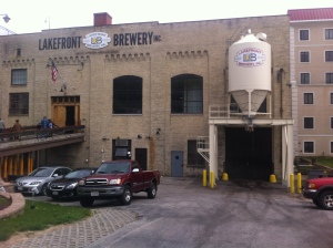 Lakefront Brewery Front View