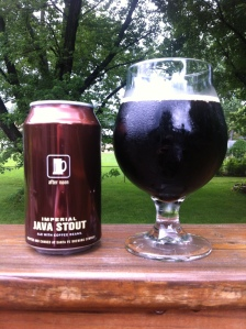 Santa Fe Imperial Java Stout after noon
