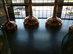 Copper brew kettles