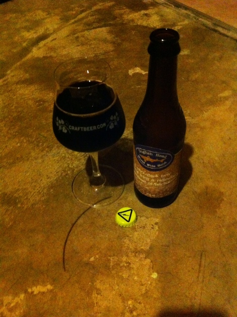 Dogfish Head World Wide Stout (2014)